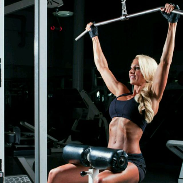 How to do: Lat Pull Down To The Front - Step 1