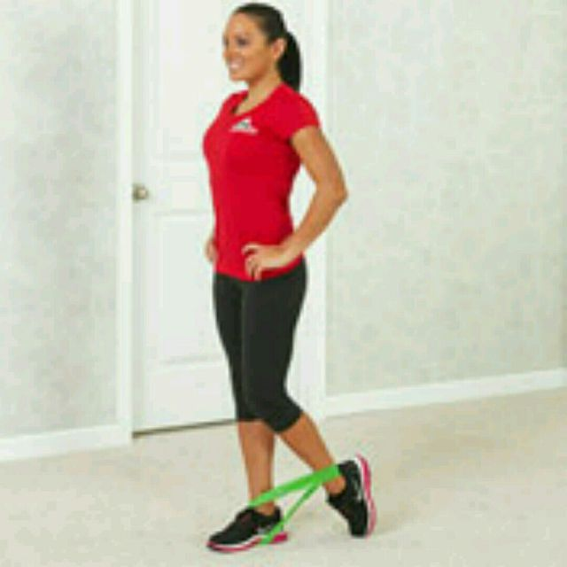 How to do: Standing Hamstring Curl - Step 1