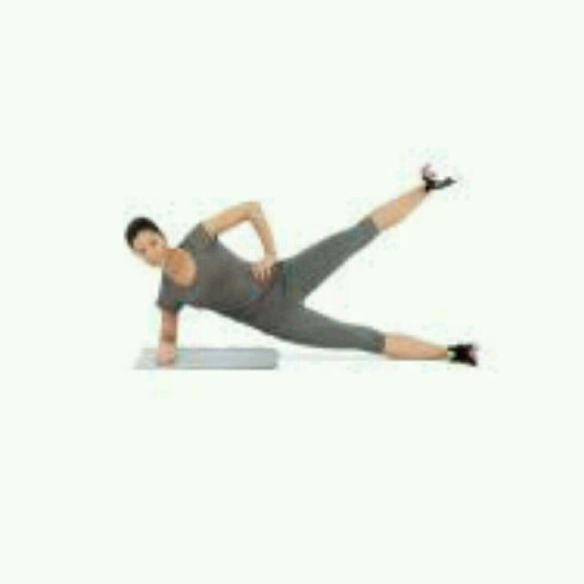 How to do: Side Plank w Leg Lift - Step 2