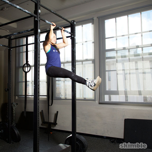 How to do: L Pull-Ups - Step 2