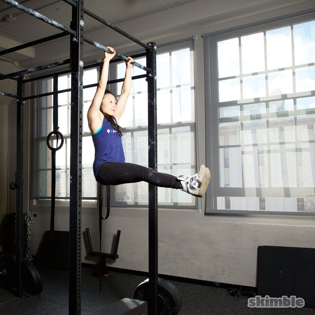 How to do: L Pull-Ups - Step 1
