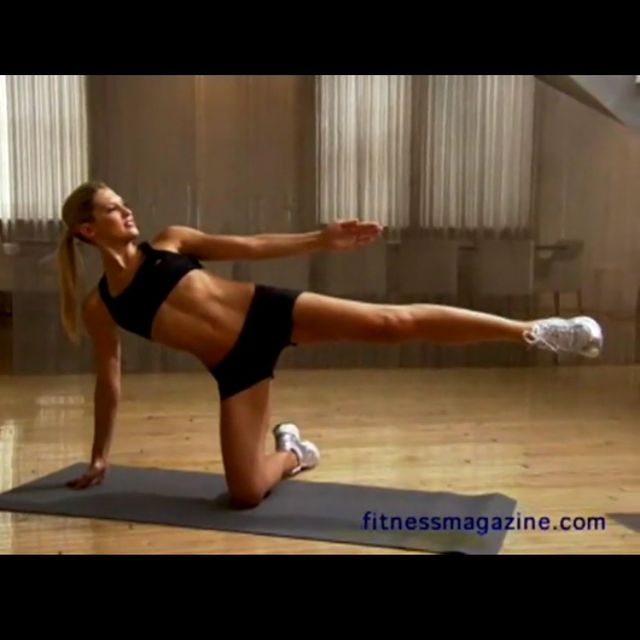 How to do: Side Crunch - Step 1