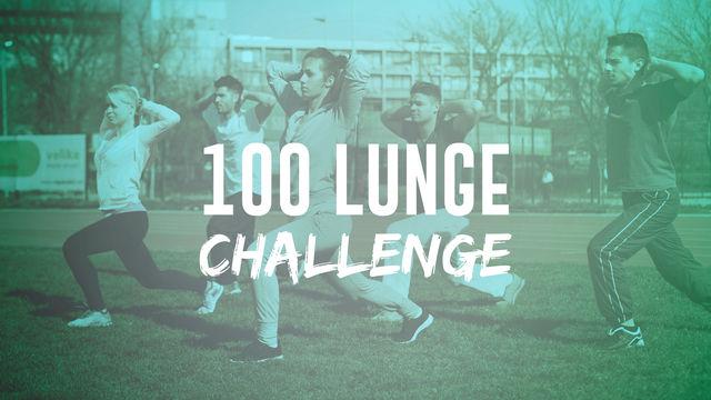 100 Lunge Challenge