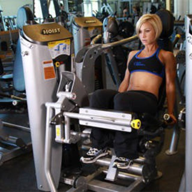 How to do: Seated Leg Curl - Step 1