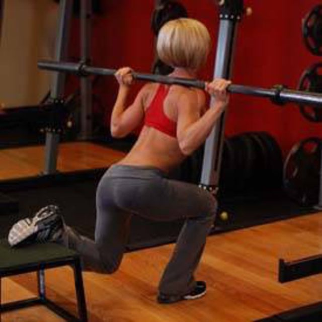 How to do: Bulgarian Split Squat - Step 1