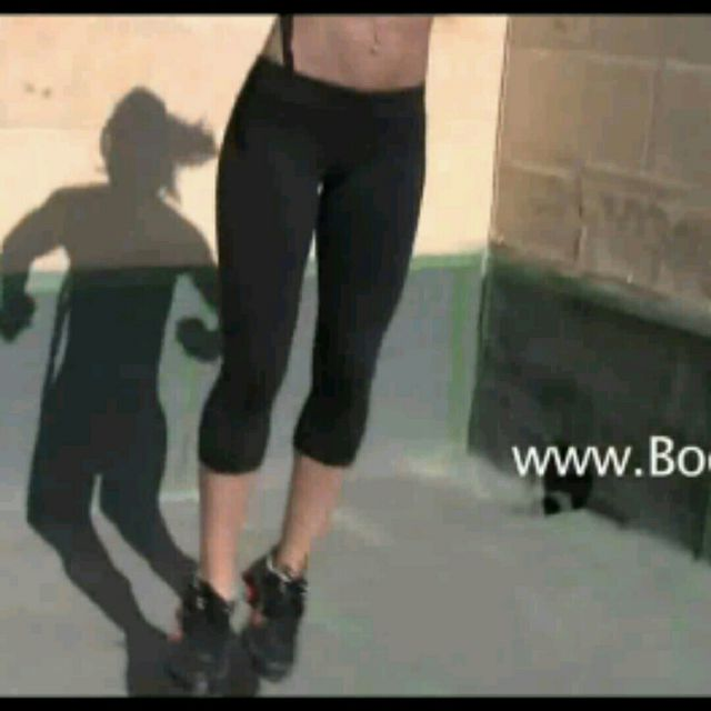 How to do: Side Jump Lunge - Step 2