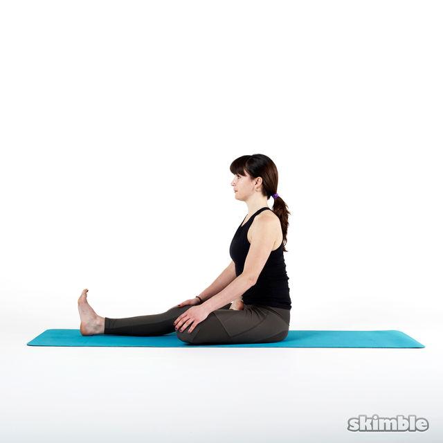 How to do: Half Bound Lotus - Step 3