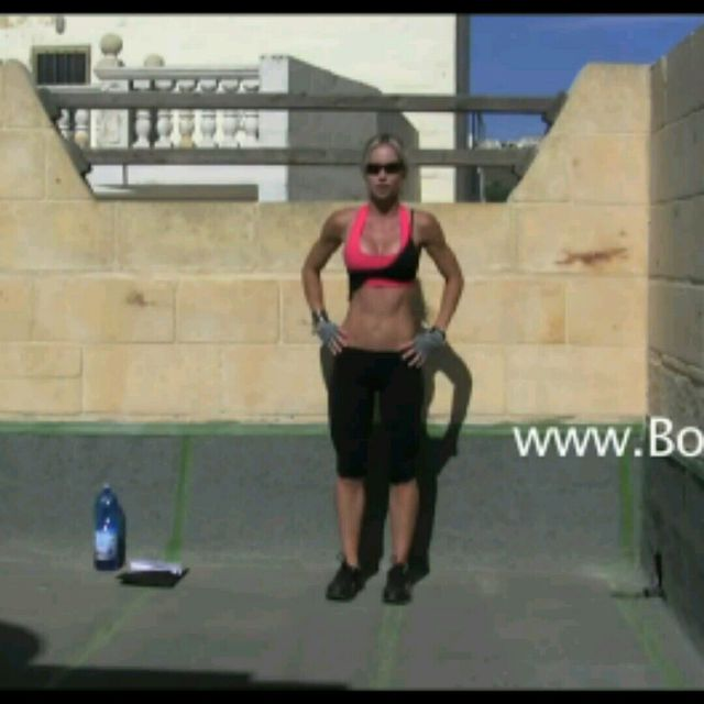 How to do: Cross over Lunges - Step 1