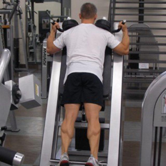 How to do: Calf raises - Step 1