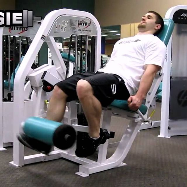 How to do: Isolated Leg Extension - Step 1