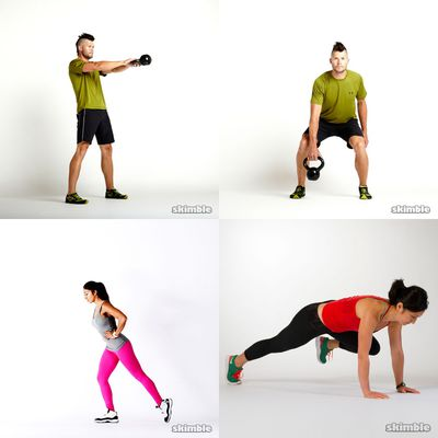 Medium Intensity Workouts