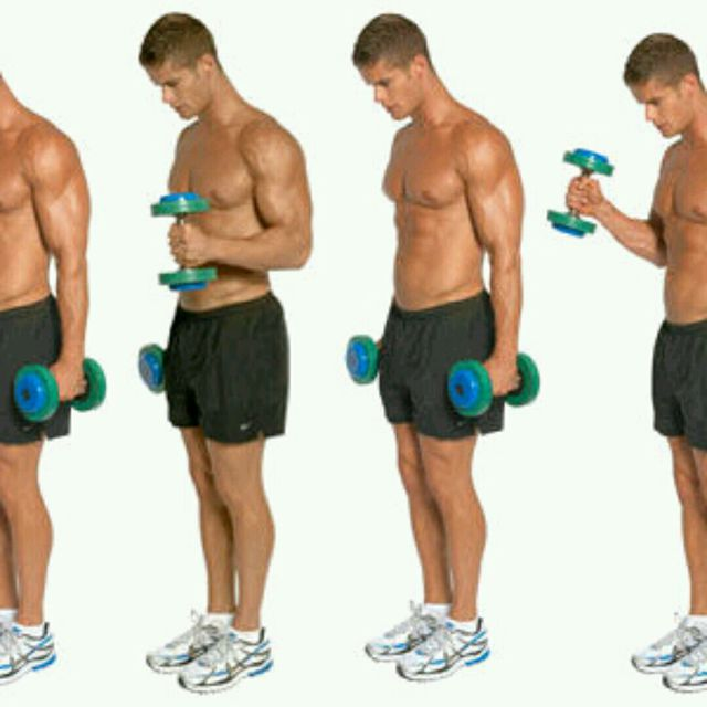 How to do: Hammer Dumbell Curl - Step 1