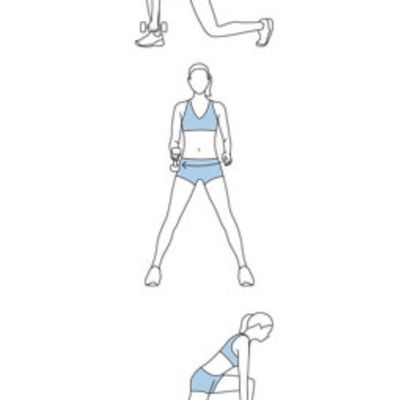 Lunge, Lift, & Turn