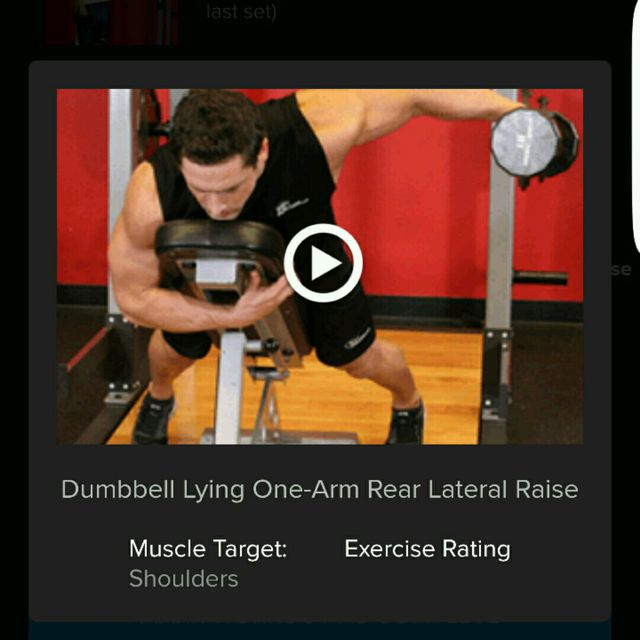 How to do: Dumbell One Rear Lateral Raises - Step 4