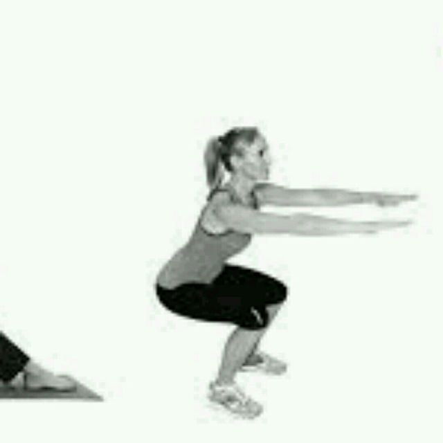 How to do: Jumping Squat - Step 1