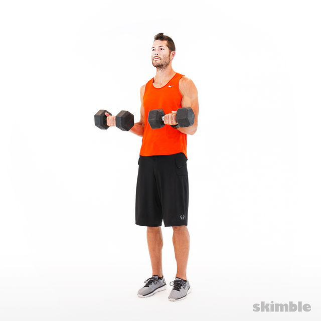How to do: Bicep Curls - Step 2
