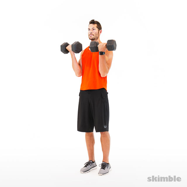 How to do: Bicep Curls - Step 3