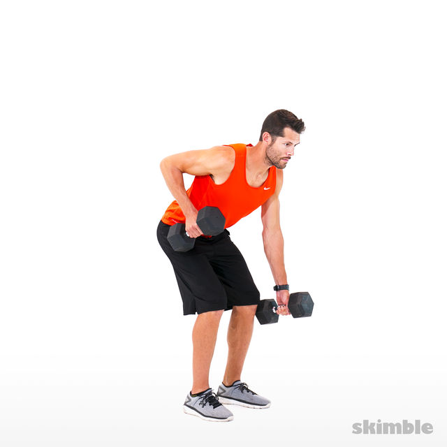 Compound Dumbbell Circuit
