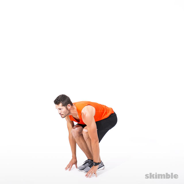 How to do: Reverse Lunge Elbow to Instep with Rotation - Step 4