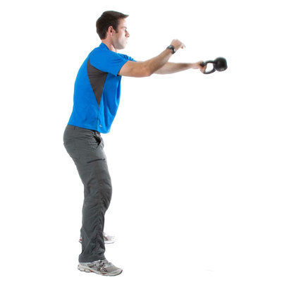 Alternating Kettlebell Swings