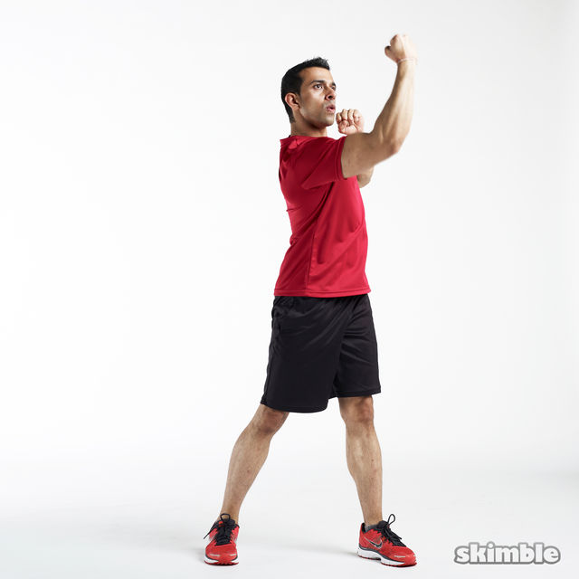 How to do: Upper Cuts - Step 6