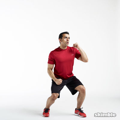 Squats With Uppercuts