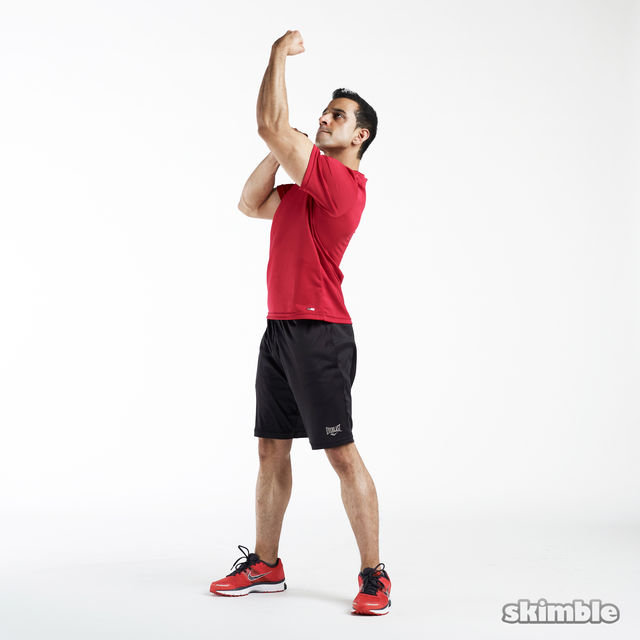 How to do: Upper Cuts - Step 3