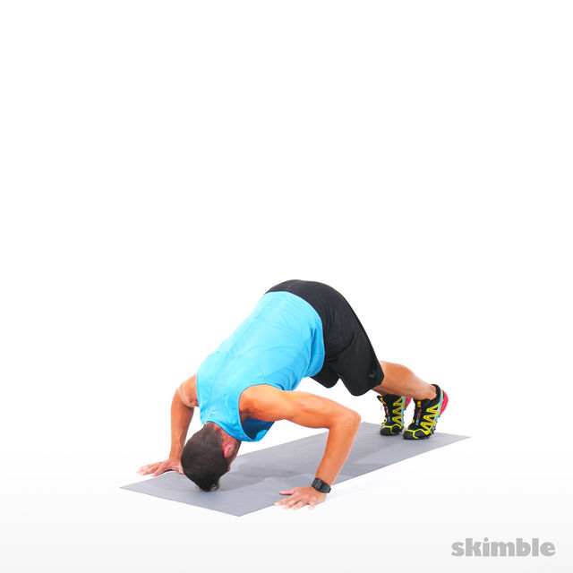 How to do: Dolphin Push-Ups - Step 2