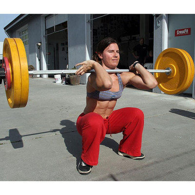 Weighted Front Squat