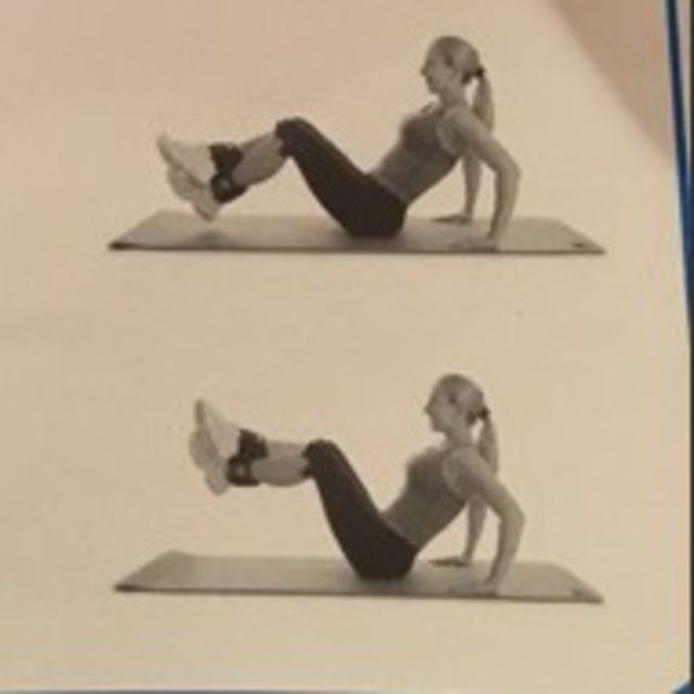 How to do: Seated Ab Raise - Step 1