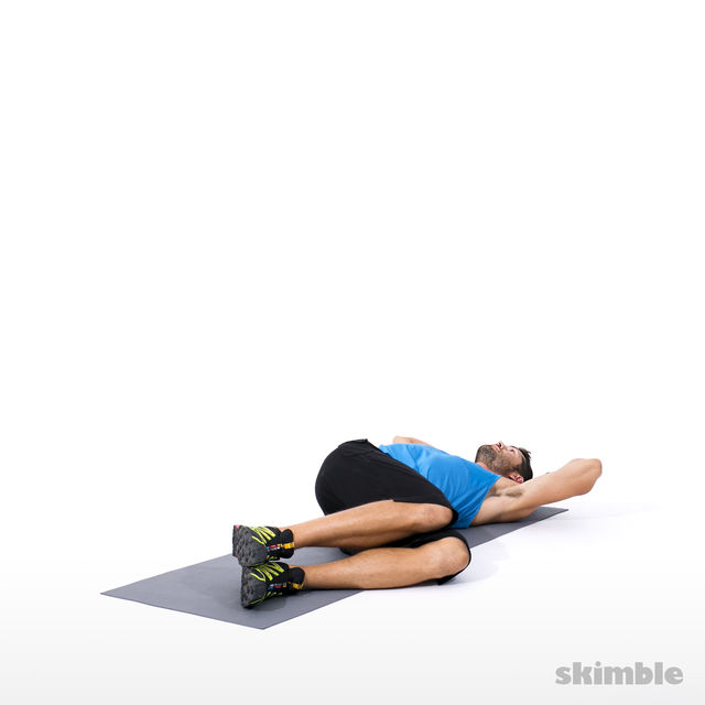 How to do: Alternating Side Crunches - Step 1