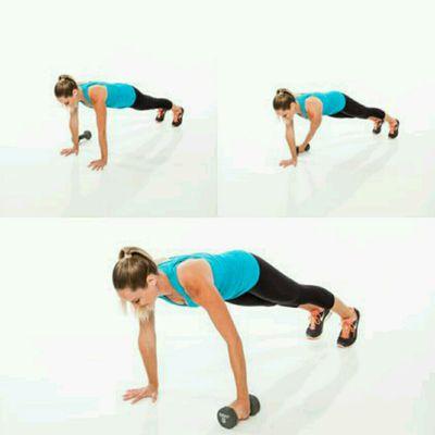 Plank Pull Throughs