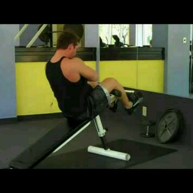 How to do: Weighted Sit-Ups - Step 1