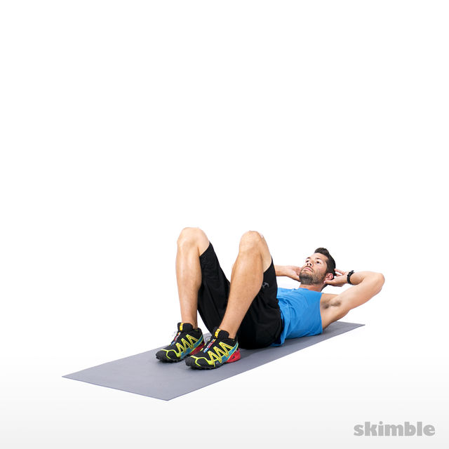 How to do: Short Crunches - Step 2
