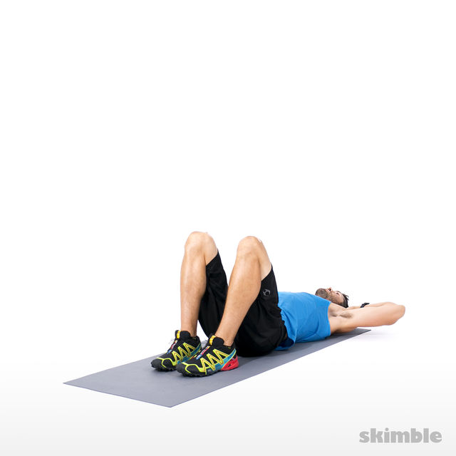 How to do: Short Crunches - Step 1