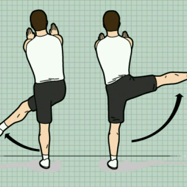 How to do: Lateral Leg Swings - Step 1