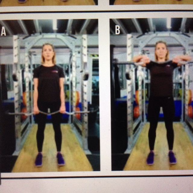 How to do: Upright Row - Step 1