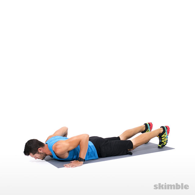 How to do: Hand Release Push-ups - Step 4