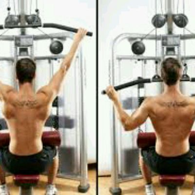 Lat Pulldown Wide Grip
