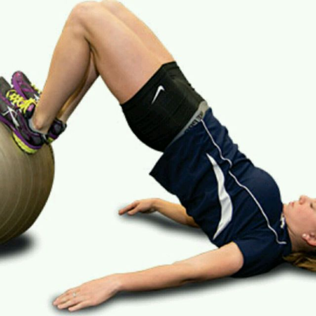 How to do: Leg Curl with Ball - Step 1