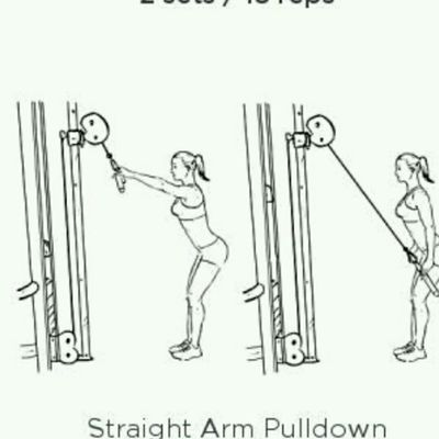 Cable Pull Down