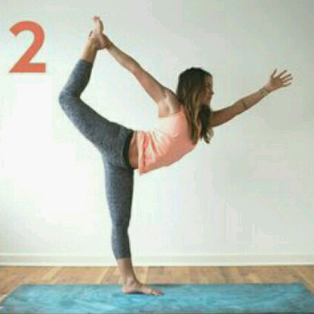How to do: Standing Scorpion - Step 1