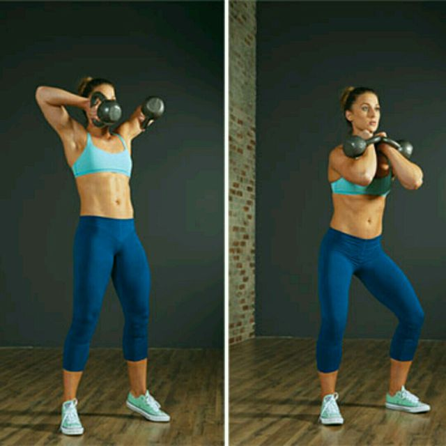 How to do: Double Kettlebell Clean - Step 1