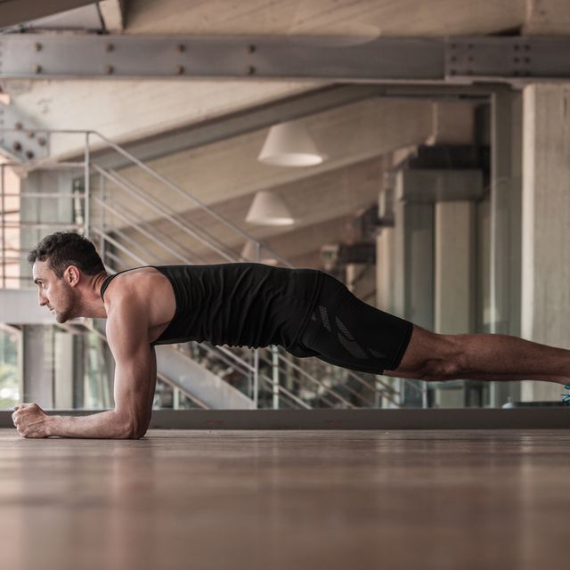 How to do: Planks On Elbows - Step 1
