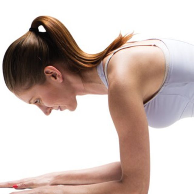 How to do: Planks On Elbows - Step 2
