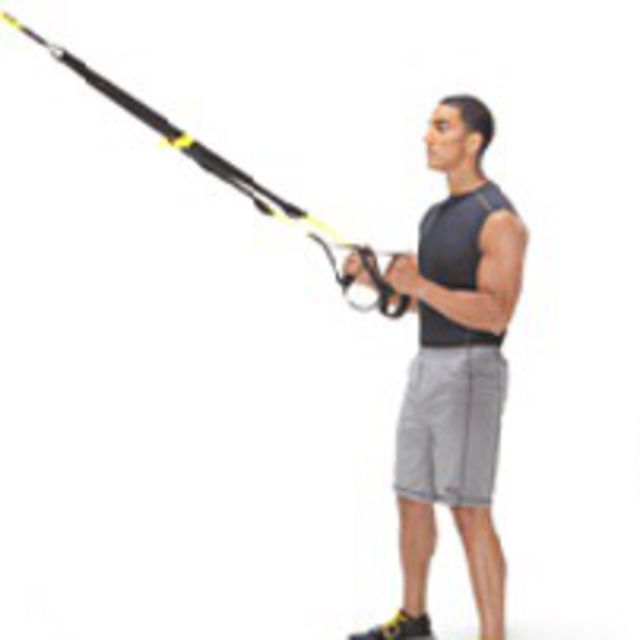 How to do: TRX Squat - Step 1