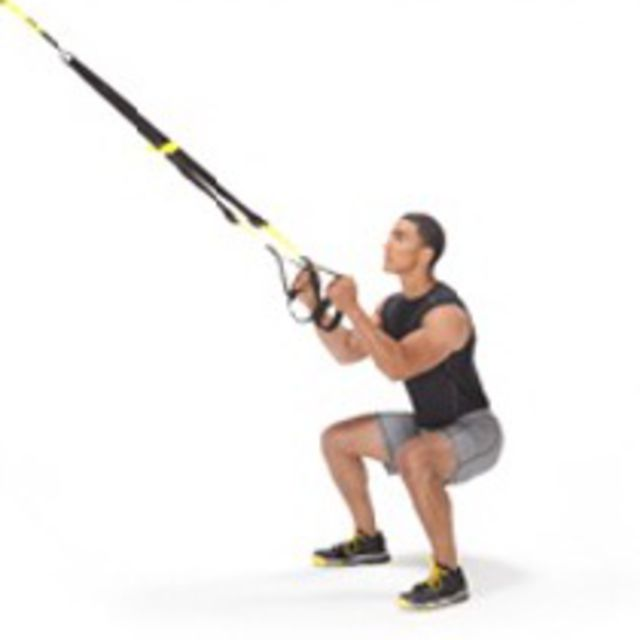 How to do: TRX Squat - Step 2