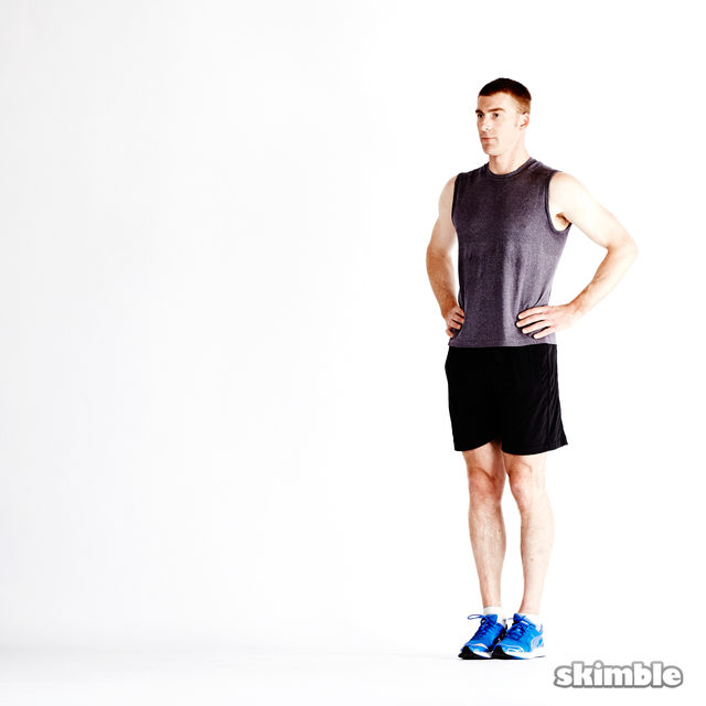 How to do: Dynamic Lunges - Step 7