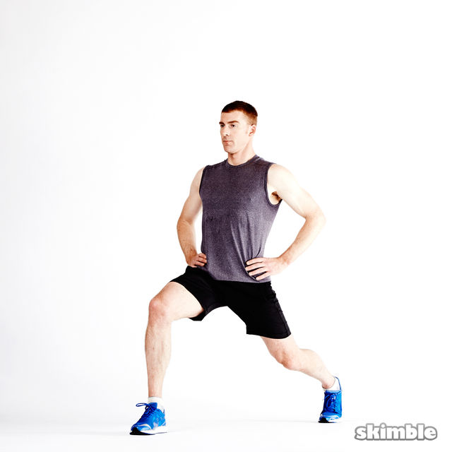 How to do: Dynamic Lunges - Step 10