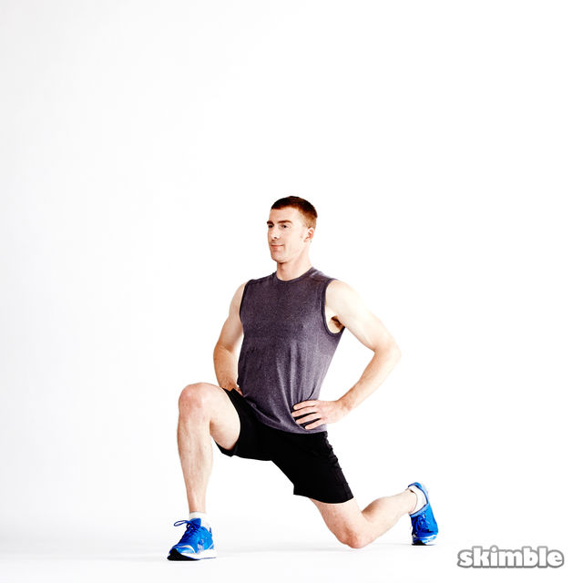 How to do: Dynamic Lunges - Step 9
